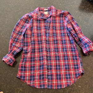 Jcrew Boyfriend Fit Button Up Sz Small